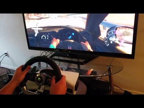 mad catz xbox 360 steering wheel instructions