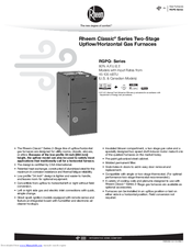 rheem 200 series thermostat instruction manual