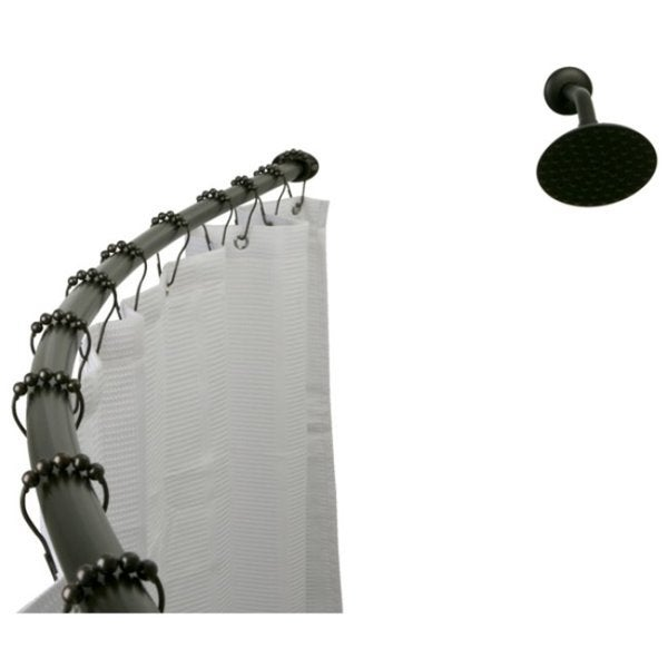 threshold curved shower rod instructions