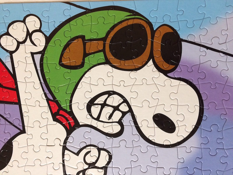 snoopy flying ace game instructions