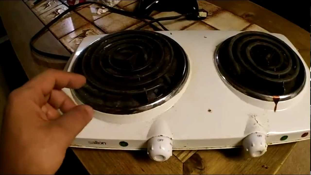 salton induction cooktop instructions