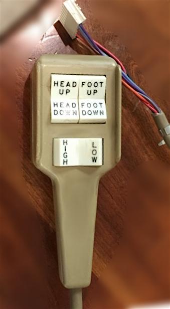 ergomotion remote control instructions