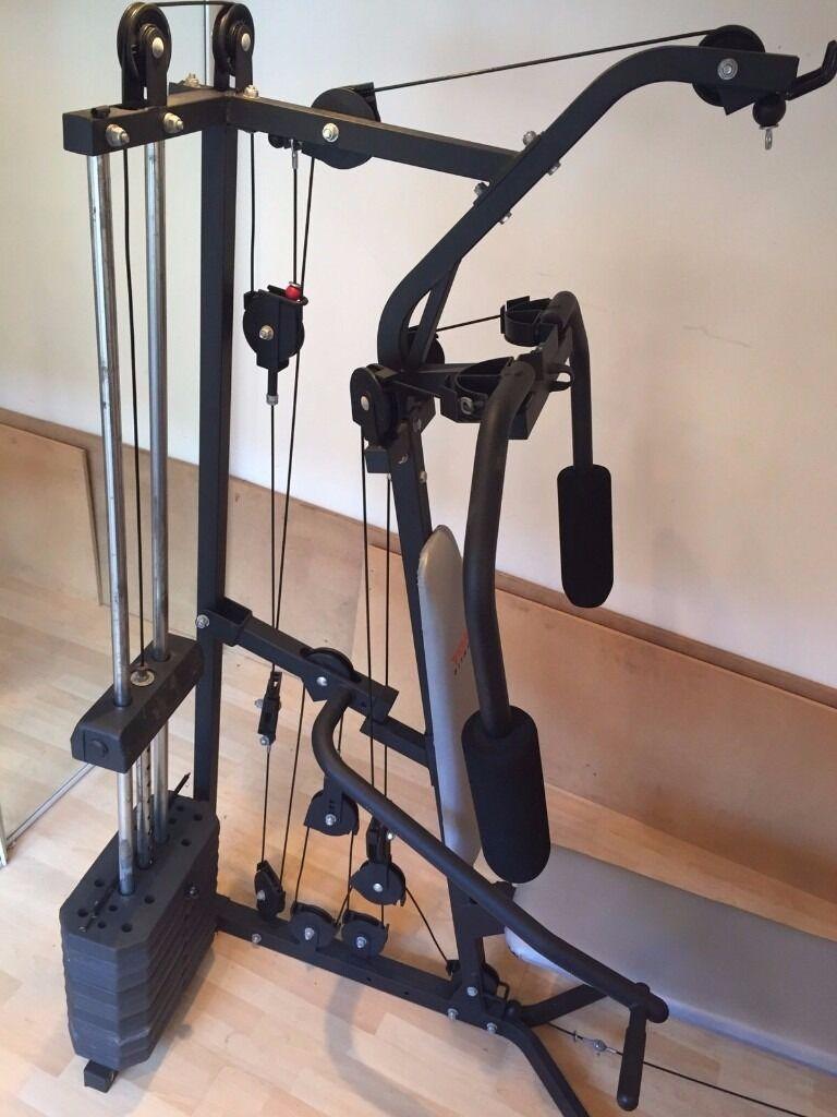 york multi gym instructions