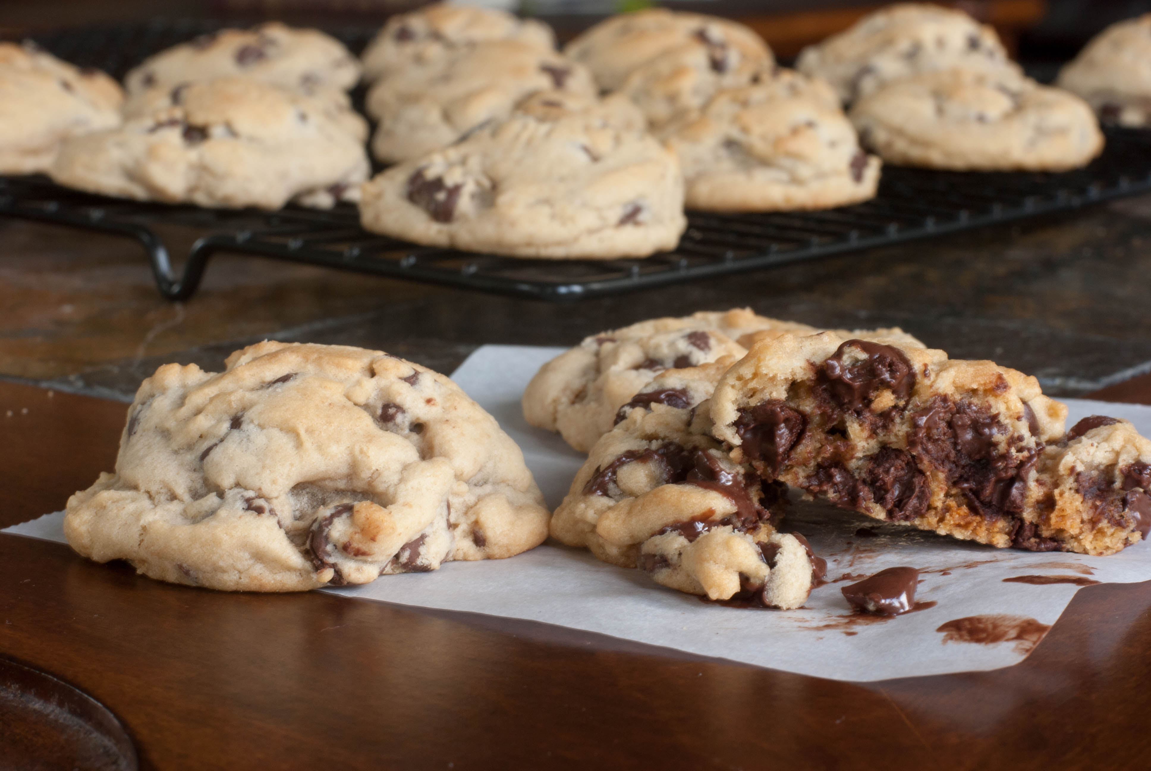 instructions to make chocolate chip cookies