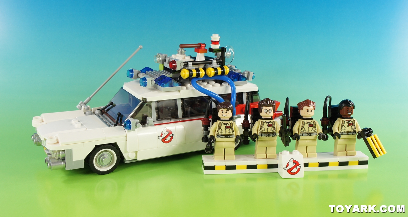 lego ghostbusters ecto 1 instructions