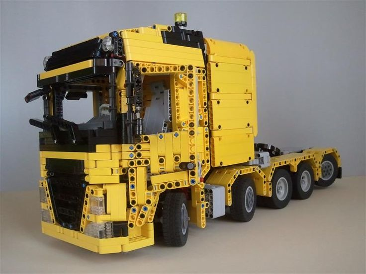 lego volvo l30g instructions