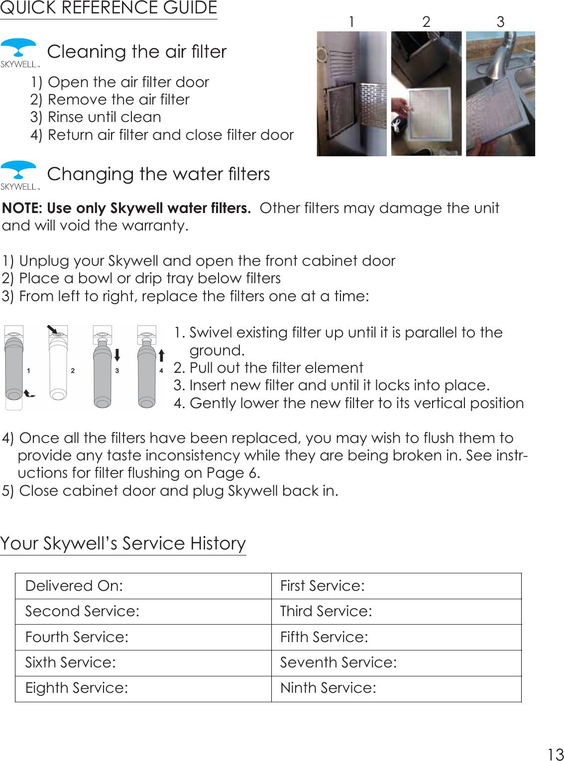 polar water cooler instruction manual