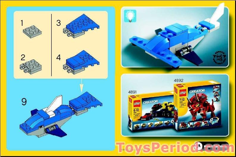 lego dolphin cruiser instructions