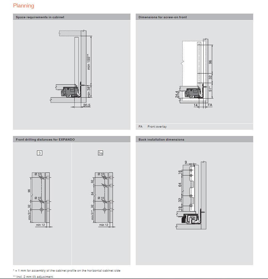 richelieu drawer slides instructions