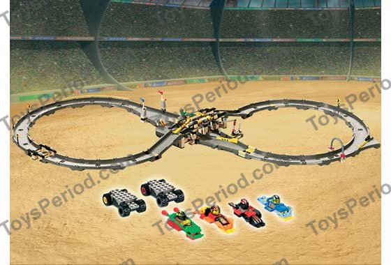 lego race track instructions