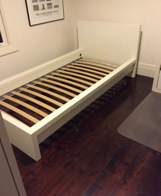 malm twin bed frame instructions