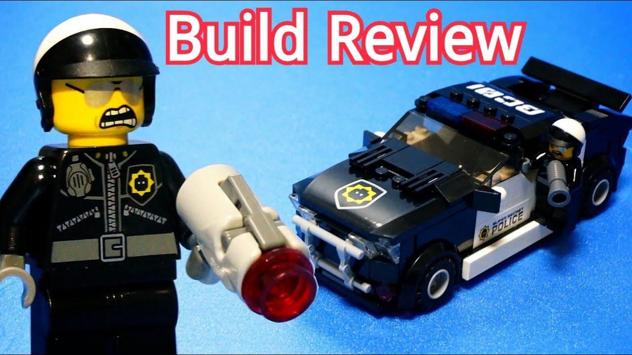 lego bad cop car instructions