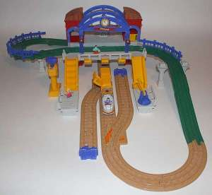 geotrax train station instructions