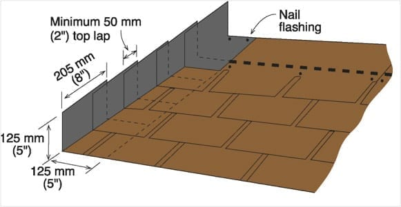 asphalt roll roofing installation instructions