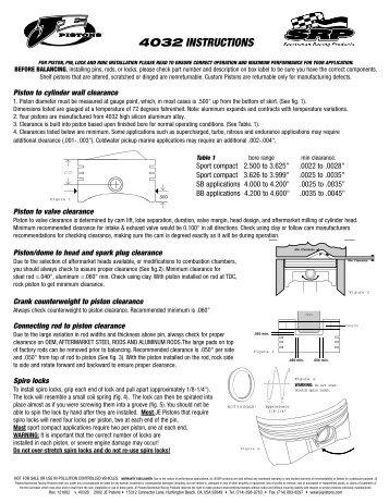 piston ring installation instructions