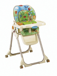 fisher price easy fold high chair instructions