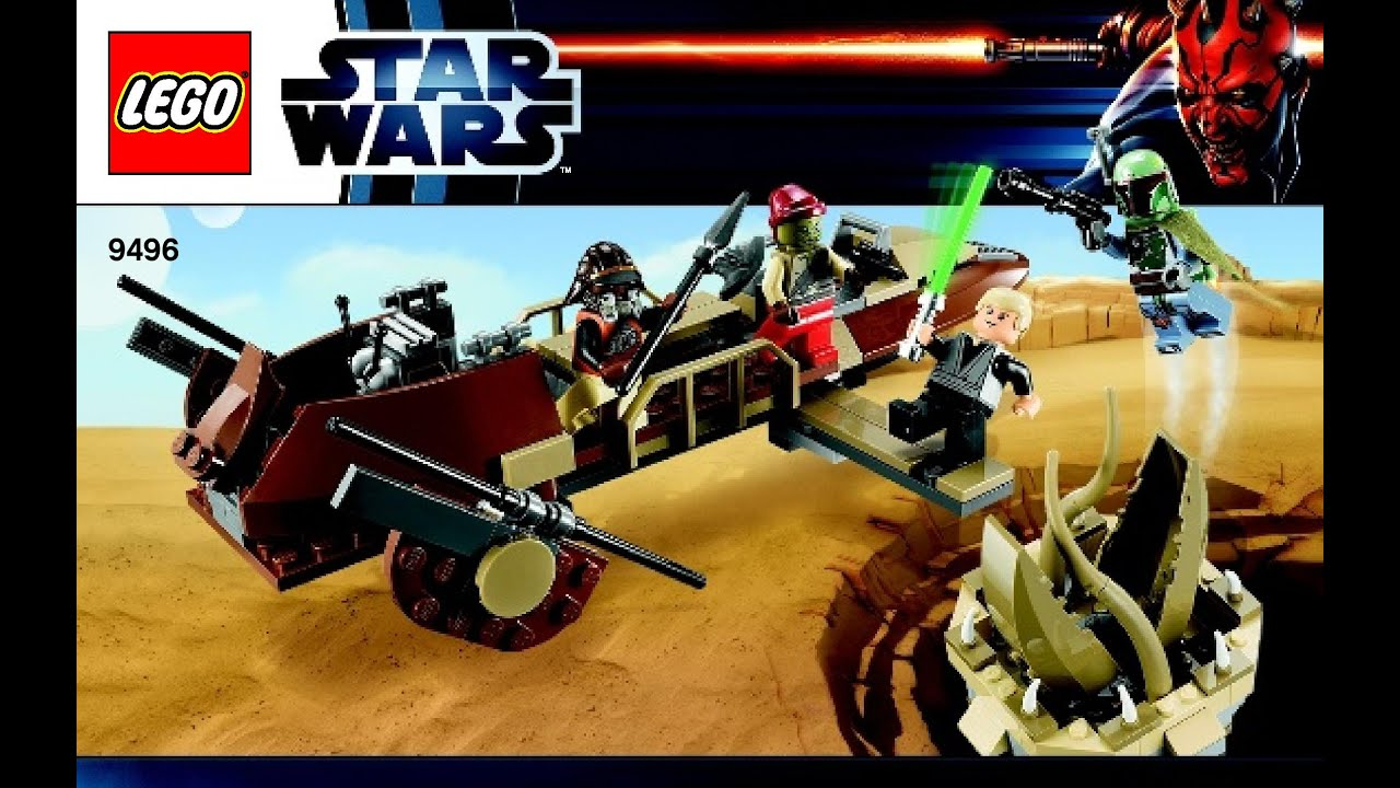 lego star wars desert skiff instructions