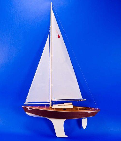 rc model sailboat sail making instructions