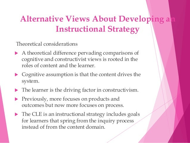 components of instructional system