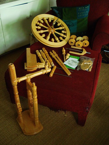 spinning wheel assembly instructions