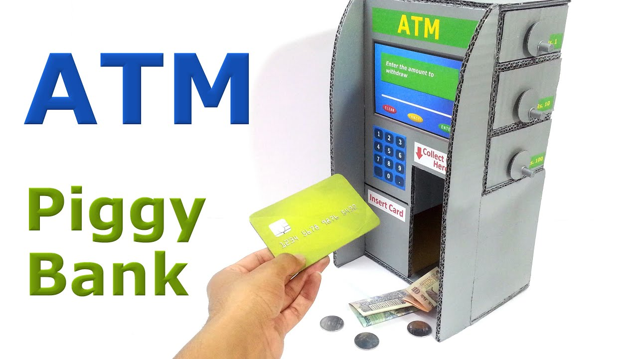 atm bank toy instructions