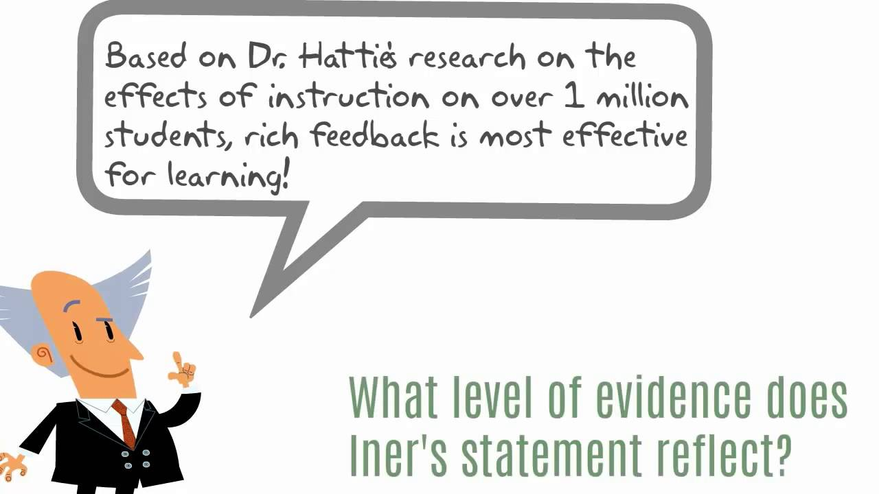 what is evidence based instruction