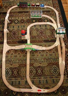 imaginarium train table track layout instructions