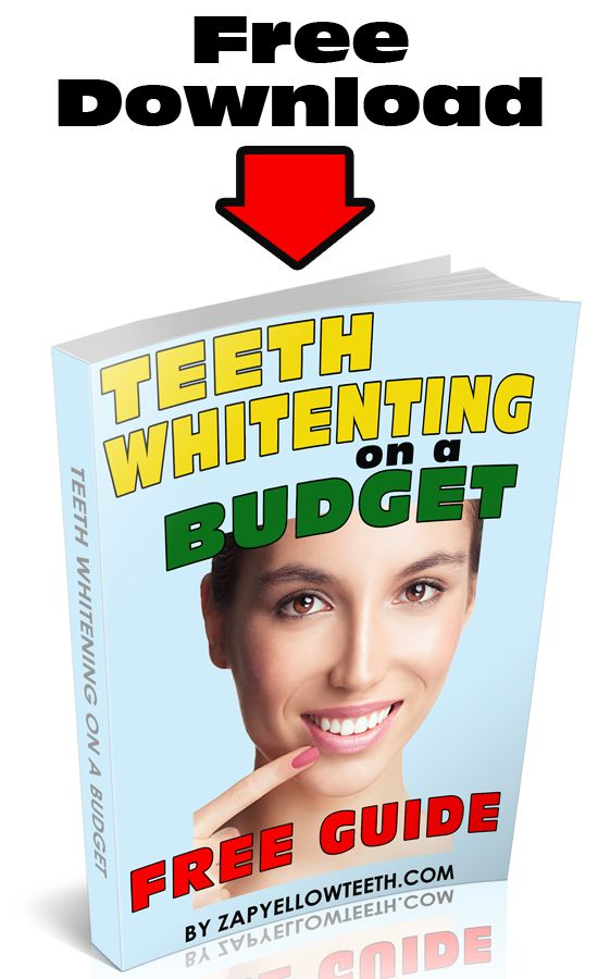 bleaching teeth at home instructions