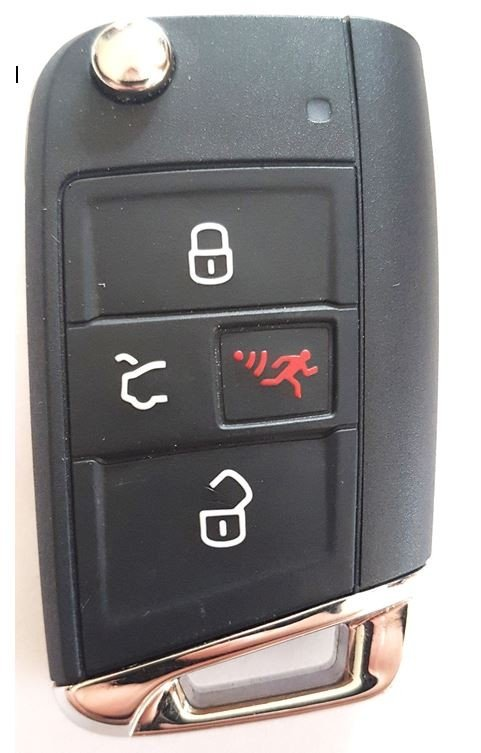 vw key fob programming instructions