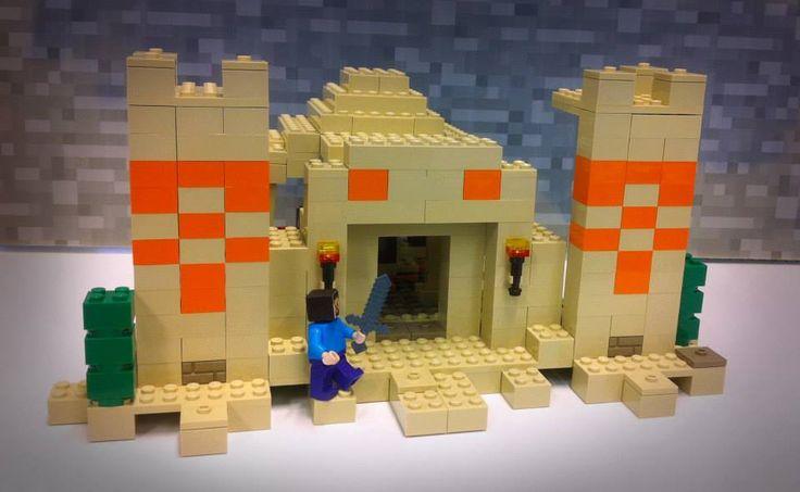 lego minecraft the mine instructions