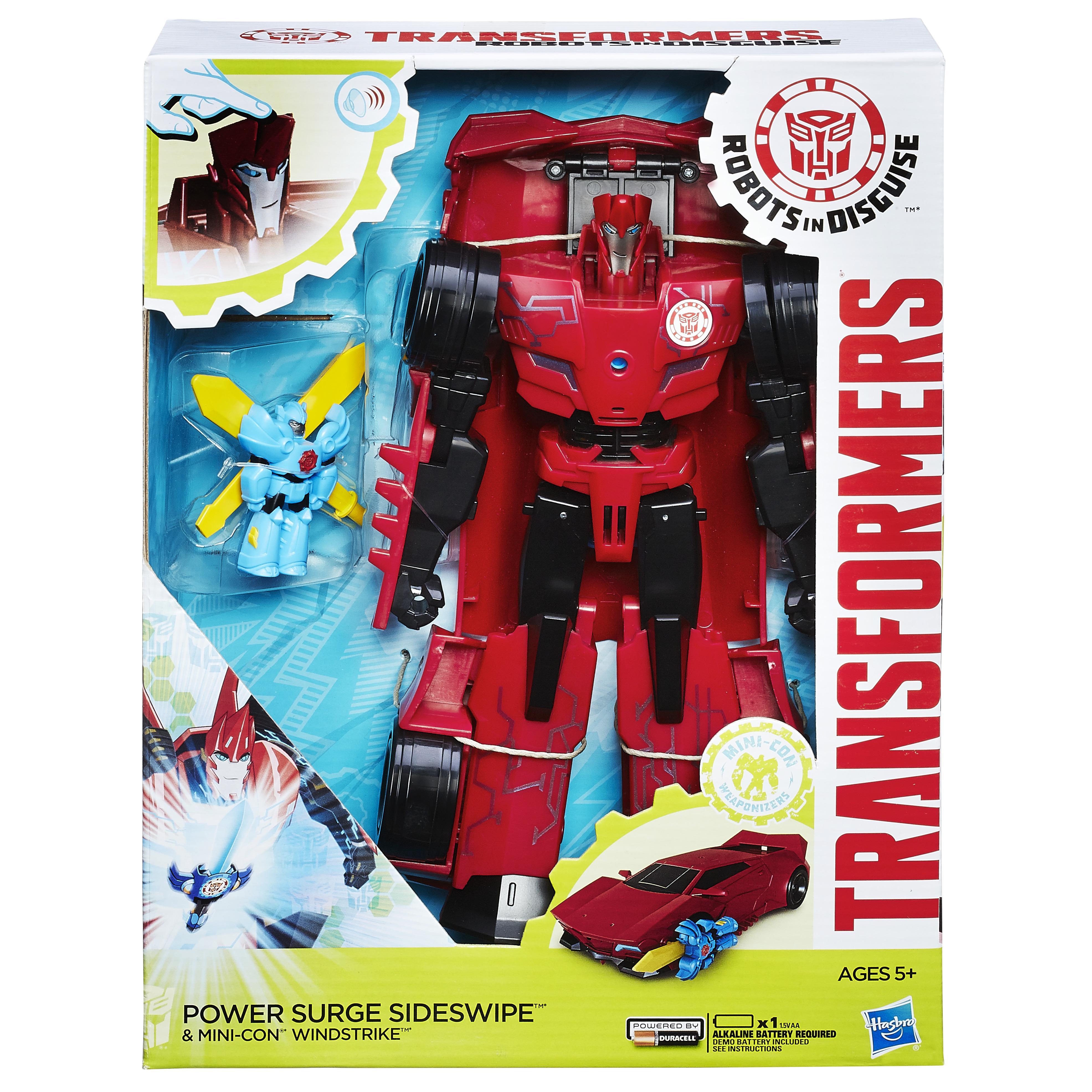 power surge optimus prime instructions