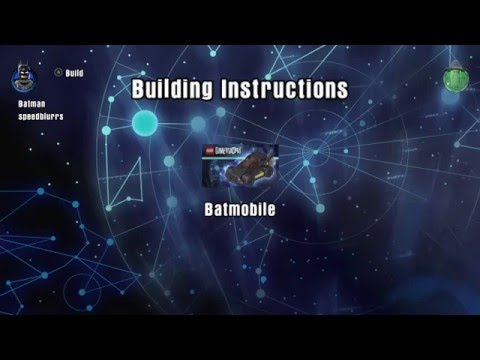 batmobile lego instructions dimensions