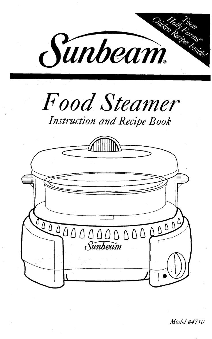baby bullet steamer instructions