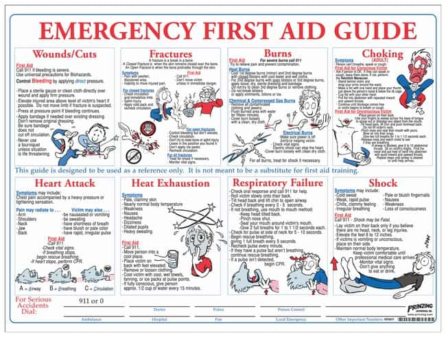 first aid instruction manual