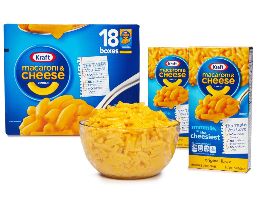 mac and cheese box instructions