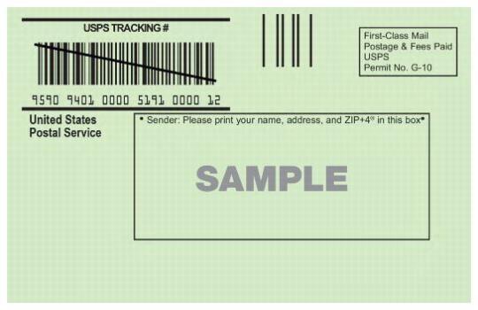 usps return receipt instructions