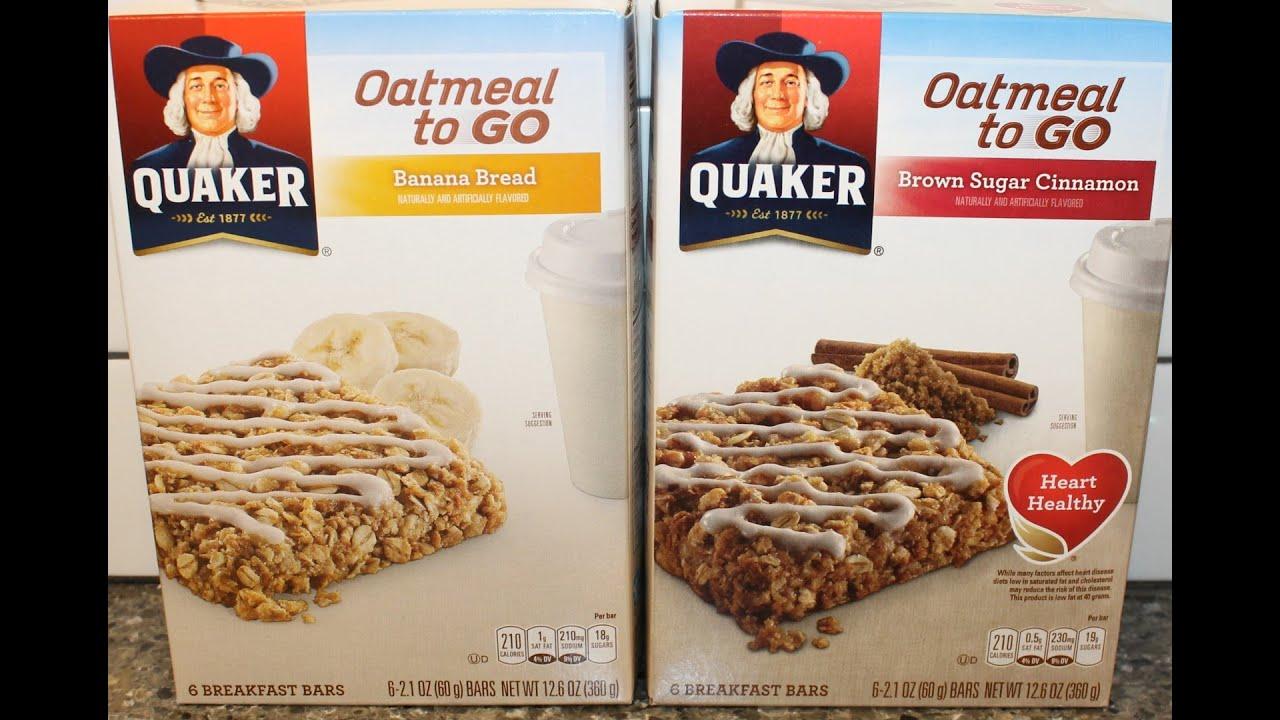 quaker oatmeal instructions box