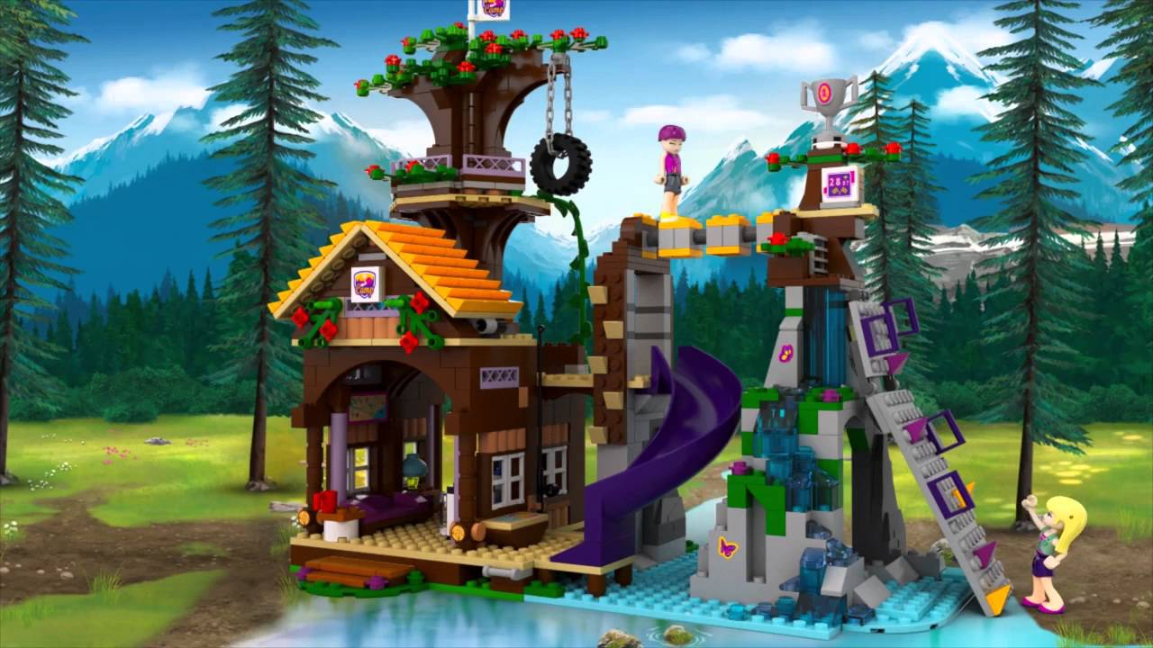 lego friends treehouse instructions