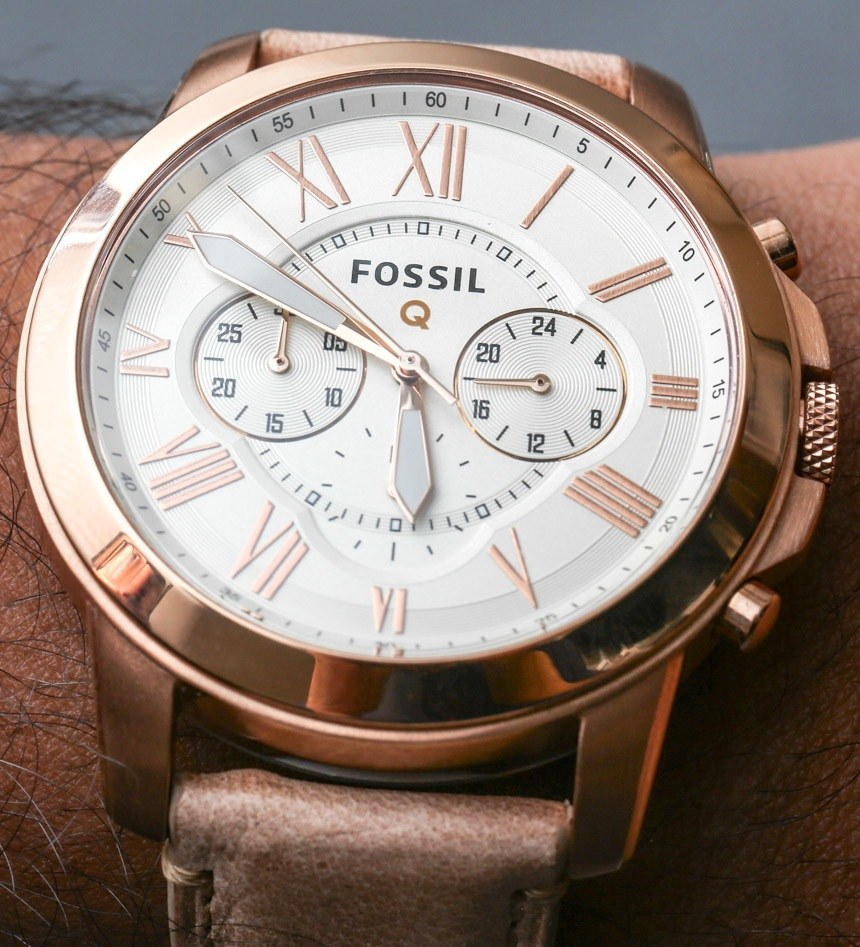 fossil q founder instructions