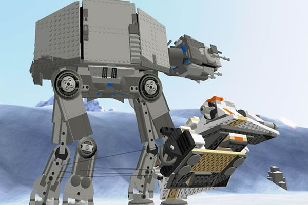 lego star wars battle of hoth board game instructions