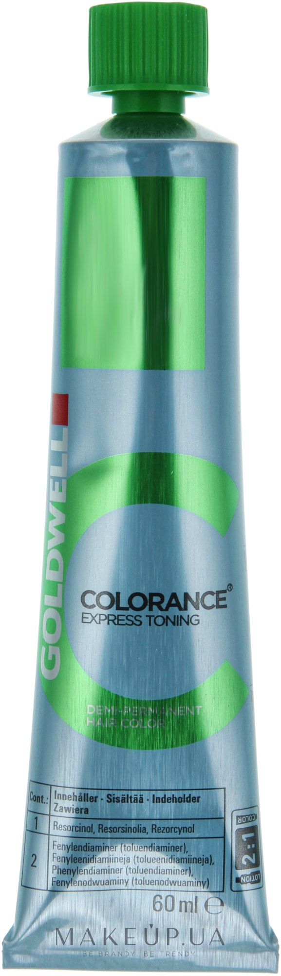 goldwell colorance express toning instructions