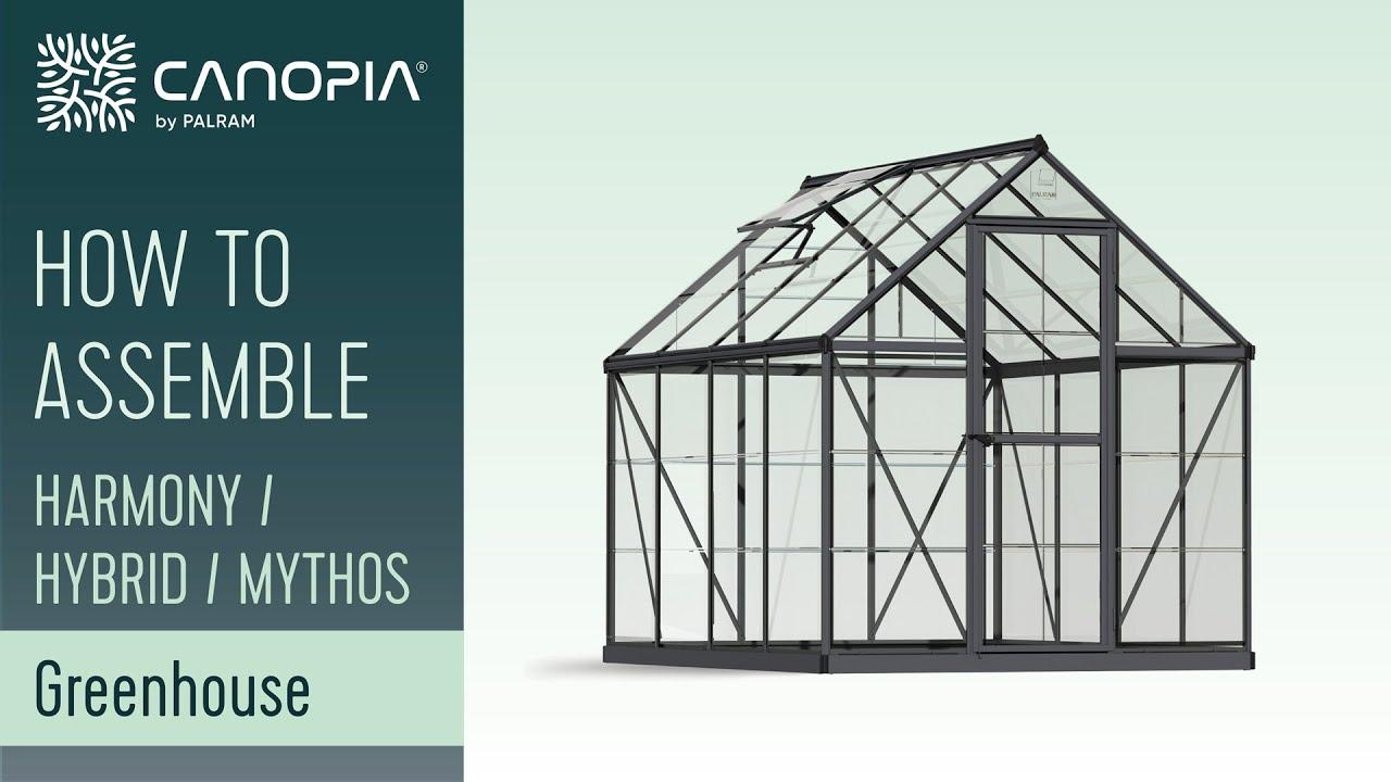 mythos greenhouse assembly instructions