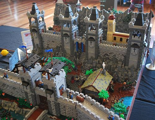 playmobil eagle castle instructions