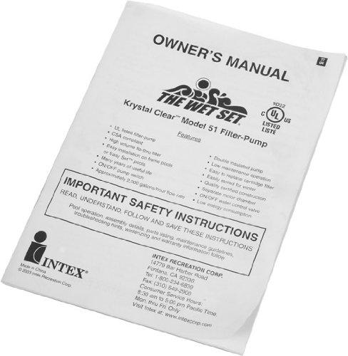 intex pool ladder instructions