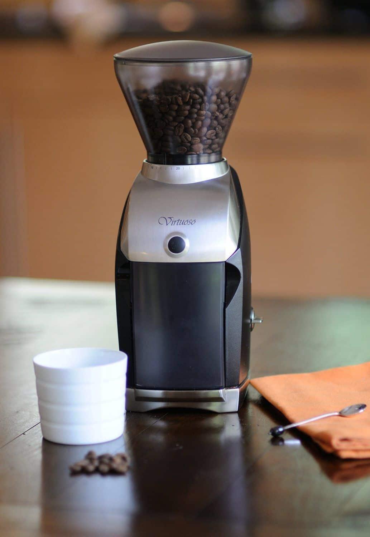 virtuoso coffee grinder instructions