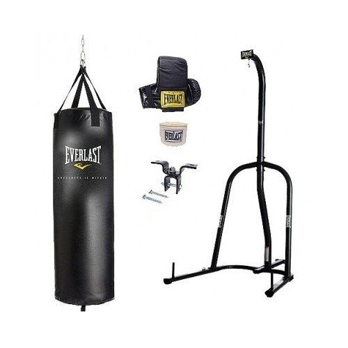 everlast dual station heavy bag stand instructions