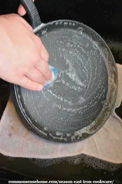cast iron seasoning instructions
