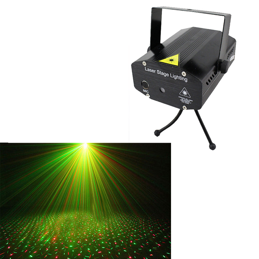 mini laser stage lighting instructions