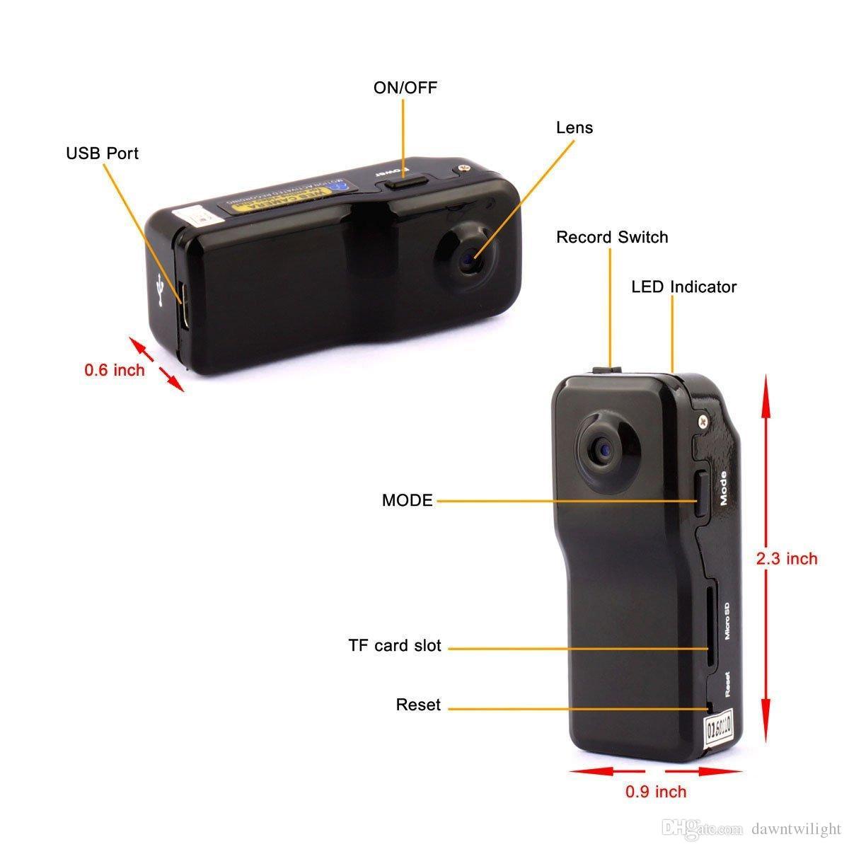 spy gear camera instructions