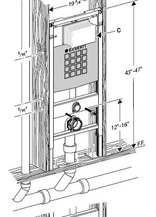 water closet installation instructions